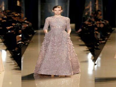 ELIE SAAB Haute Couture Herfst Winter 2015-16 Fashion Show