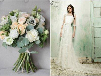 Look van de week: De plumetis bruidsjurk!