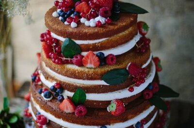 5 Fantastic Ideas For Decorating your Naked Wedding Cake
