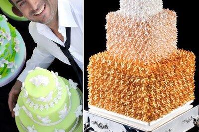 Torta nuziale in tema col matrimonio: la delizia della meraviglia!