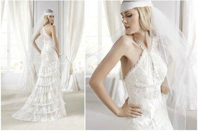 Enamórate de estos vestidos elaborados por La Sposa 2015