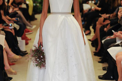 Carolina Herrera Bridal Collection Spring/Summer 2016: a Delicate Romanticism