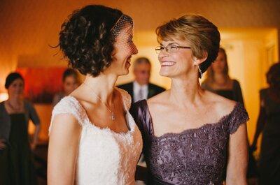 5 regalos para consentir a la mamá de la novia en el día de las madres