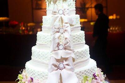 Como escolher seu bolo de casamento