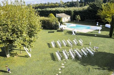 Your Outdoor Wedding Ceremony with Label' Emotion Paris : A unique tailor-made experience.
