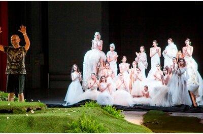 Speciale Sì Sposaitalia: David Fielden 2015, ninfe di un giardino incantato