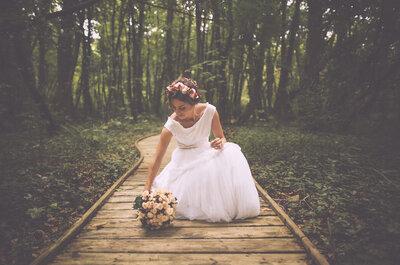Wie man einen natürlichen Brautlook 2016 stylt! Wild und romantisch zum Traualtar