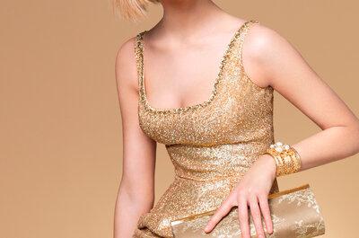 6 tendencias muy femeninas en vestidos de novia e invitadas