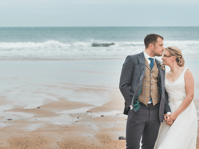 Katie and Dan's inspirational wedding day!
