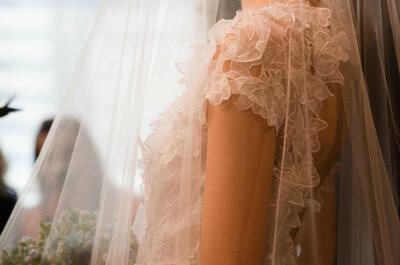 Véus de noiva que são tendência para 2014