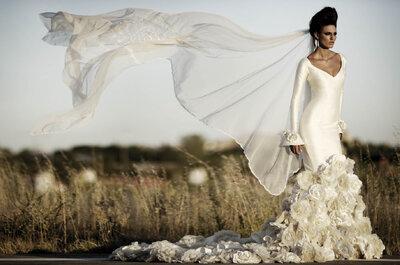Los 13 mejores dise adores de vestidos de novia de madrid - Disenadores de sevilla ...