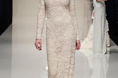 25 vestidos con encaje de la White Gallery 2014