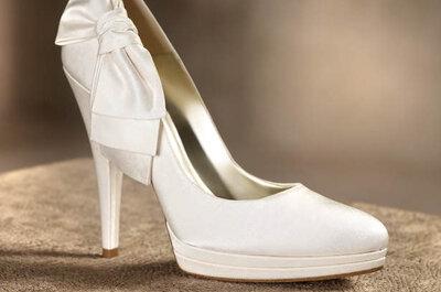 Sapatos de noivas 2014: as tendências