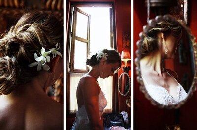 Peinados para novias tendencias 2013