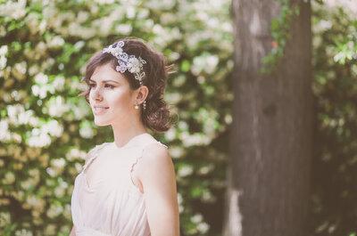 Editorial Zankyou: noiva bohemia e romântica em um jardim encantado é pura magia!