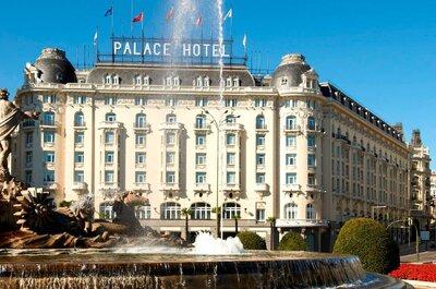 Los 12 mejores hoteles para celebrar tu boda en Madrid