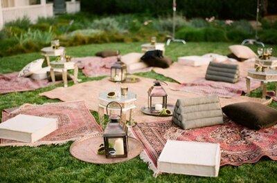 Picnic: Haz de éste el tema de tu boda 2016