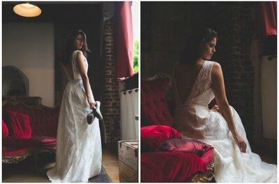 Aëlle Paris : des robes de mariée sur mesure pour une mariée sensuelle et romantique