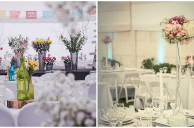 Cómo eligir las flores para decorar tu matrimonio