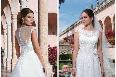 Vestidos de novia Sweetheart 2015: la exquisitez de la delicadeza nupcial