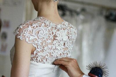 'Beauty look' da sposa, by Oscar de la Renta