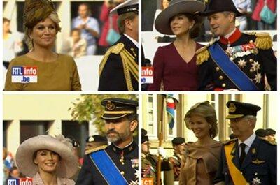 Las invitadas a la Boda Real Guillermo de Luxemburgo y Stéphanie de Lannoy