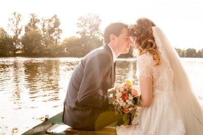 #MonMariageDeBlogueuse :  Clara du blog Une Nenette, passionnée de déco et de mariage nous raconte son joli jour !