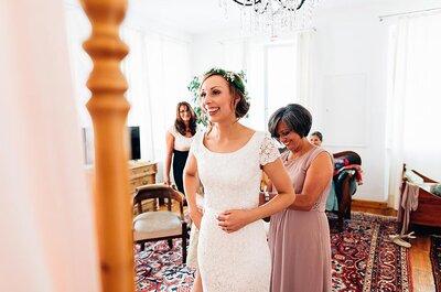Diferencia entre estas ocho tonalidades de blanco para tu vestido de novia