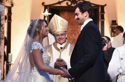 En una boda de ensueño se casó la hija del presidente Juan Manuel Santos
