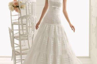 Hoje o meu vestido de noiva preferido... é fresco! De Aire Barcelona 2013