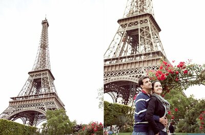 Ensaio de noivos: Lua de Mel em Paris