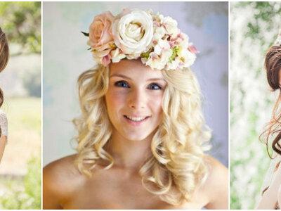 50 Acessórios de cabelo para noivas verão 2017: marcam TODA a diferença!