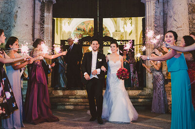 Contigo quiero ser para siempre: La boda de Vane y Hugo