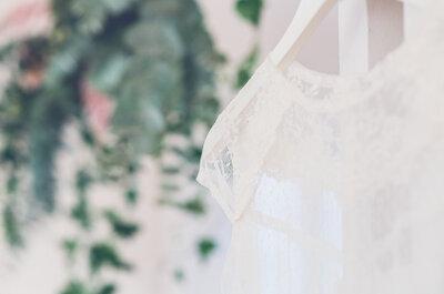 Conociendo los vestidos de novia de Alejandra Svarc. ¡Primera colección demi-couture!