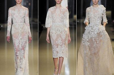 Inspiração para noivas, convidadas e madrinhas: Elie Saab Spring 2013 Couture