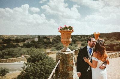 Romanticismo y naturaleza: la boda de Patricia y Jorge