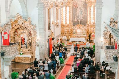 Como escolher a igreja perfeita para o vosso casamento: o que devem ter em conta!