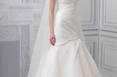 Monique Lhuillier vestidos de novia 2013