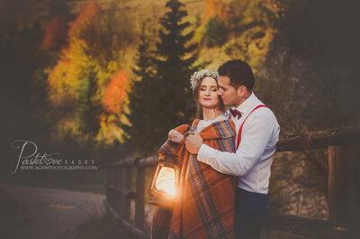 Jesień, Pieniny i sesja ślubna Kasi i Zbyszka. Sprawdzcie jak wyszła. My jesteśmy zachwyceni!