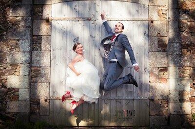 Real Wedding : Elise et Julien se rencontrent au collège et se retrouvent des années plus tard pour se marier