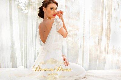 Soyez une mariée inventive, louez la robe de vos rêves avec Dream Dress Location