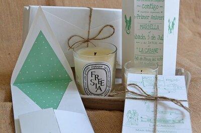 Ideas para Invitaciones de boda 2015: sencillas y románticas