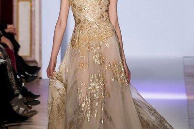 Vestidos de novia 2013 con inspiración en diosas griegas