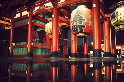 Exotische Flitterwochen in Japan