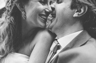 Ana Cristina e Gustavo: clima de romance em mini wedding cheio de charme