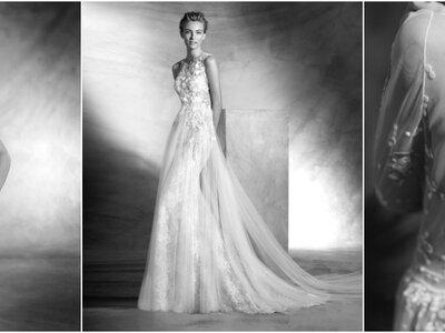 Vestidos de novia con flores. ¡Lo mejor de la tendencia actual!