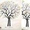 Finger Tree: com dois potinhos de tinta os convidados vão deixar uma marca com a impressão digital, formando assim uma linda árvore! Da Papel e Estilo.