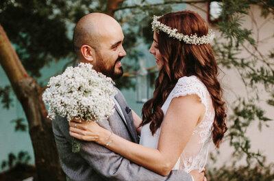 Paseando por Madrid Río: la boda de Carolina y Joseph