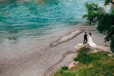 Una boda al más puro estilo Mamma Mia!: la boda de Sara y Javier