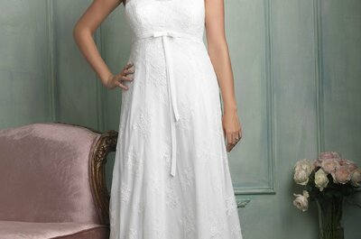 Beautiful gowns for curvaceous brides in 2015